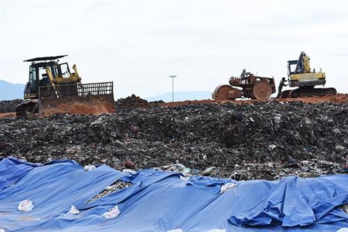 Hà Nội đầu tư 79 tỷ đồng làm đường vào khu xử lý chất thải Xuân Sơn
