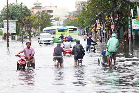 Van cửa lật HDPE - Giải pháp giải quyết nỗi lo ngập lụt ở TP HCM