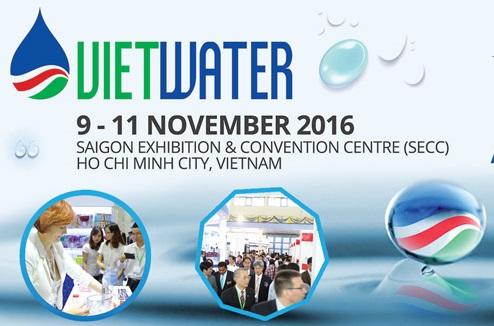 Sismat tham dự triển lãm Vietwater 2016